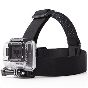 AmazonBasics Head Strap Camera Mount for GoPro 10