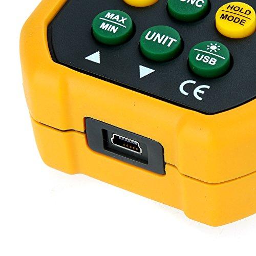 Andoer HYelec MS6252B Anemómetro digital multifuncional Volumen de Aire, Temperatura y la Humedad 2