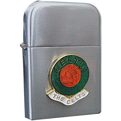 Football Club Lighters-Celtic Football Club Petrol Storm Proof Lighter Cigarette Case 1