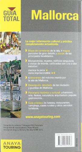 Mallorca / Majorca: Mapa de carreteras 1:400.000 / Road Map 1:400.000 (Guia Total / Total Guide) (Spanish Edition) 1