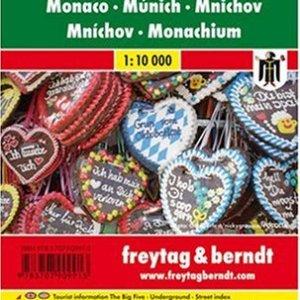 Munich City Pocket Map 1:10K FB (English, Spanish, French, Italian and German Edition) 12