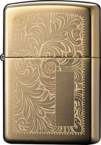 Zippo Lighter High Polish Brass Venetian 1