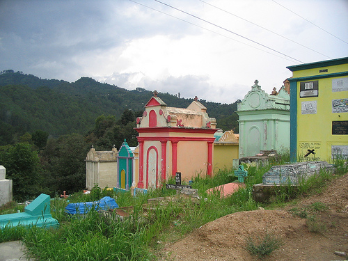 Colorful Cemeteries of Guatemala