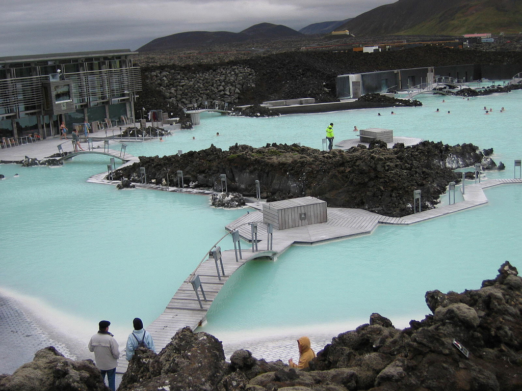 Laguna Azul un spa geotérmico en Islandia 2