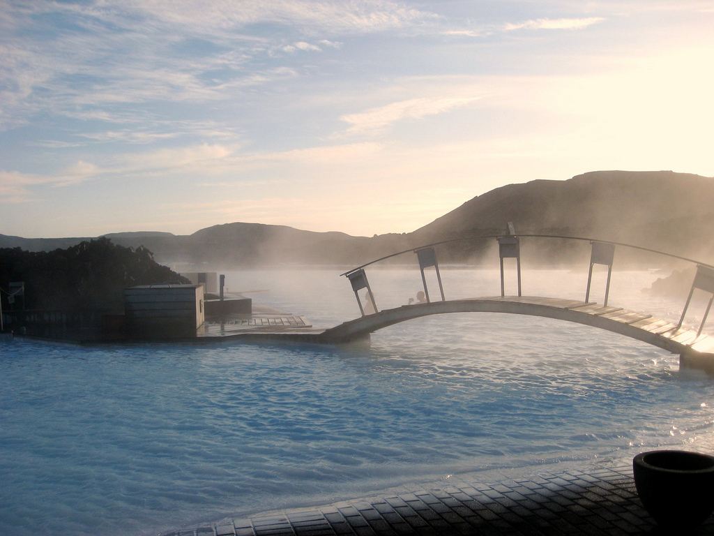 Laguna Azul un spa geotérmico en Islandia 1