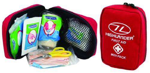 Highlander Midi First Aid Pack - Red 2