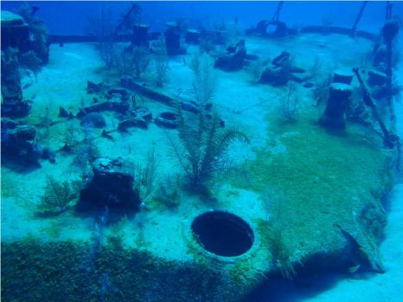 Oro Verde Wreck - Los naufragios de las Islas Caimán