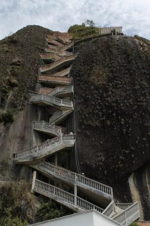 Trip to El Peñón de Guatapé