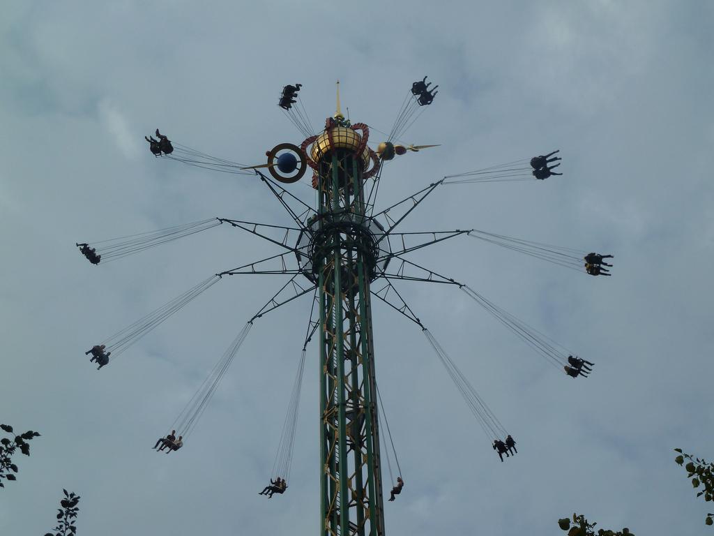 Au parc d'attraction TIVOLI de Copenhague, juillet 2011