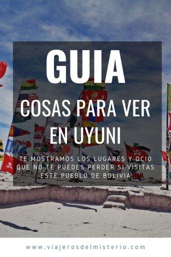 Cosas para ver en Uyuni Bolivia