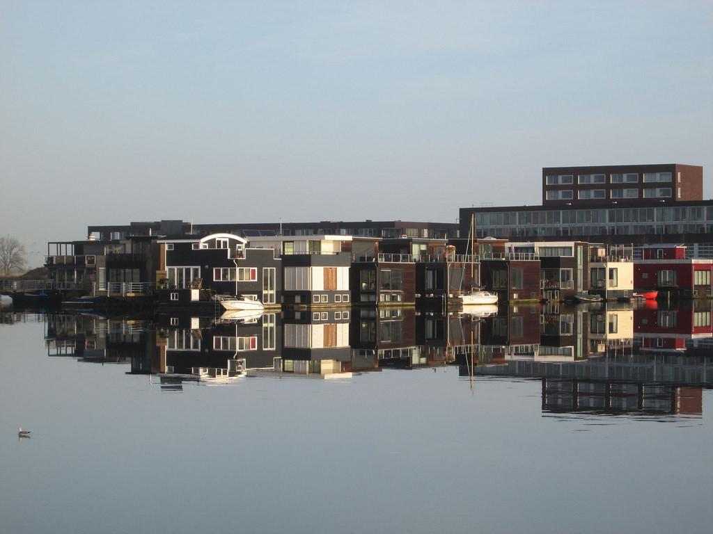 Steigereiland: Las casas flotantes de IJburg
