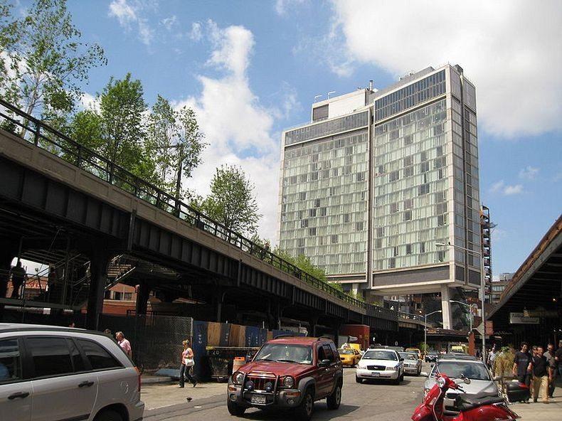 High Line: La línea de ferrocarril abandonada convertida en un parque elevado en Nueva York