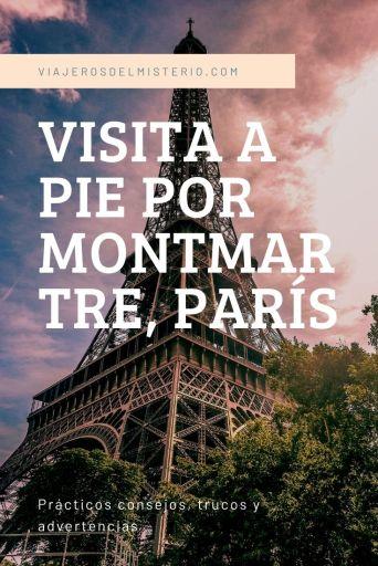 Visita a pie por Montmartre, París