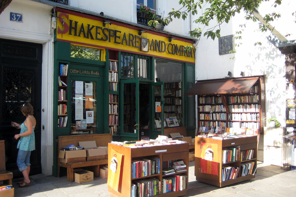 Paris - Latin Quarter - Shakespeare and Company