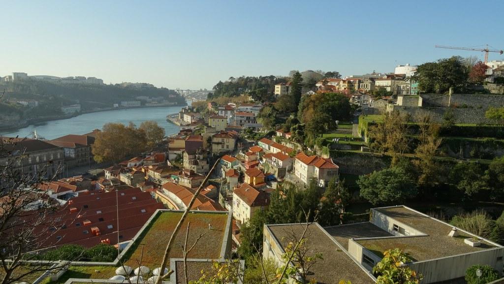Porto, Miragaia from Miradouro Passeio das Virtudes