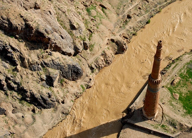 El minarete de Jam, Afganistán