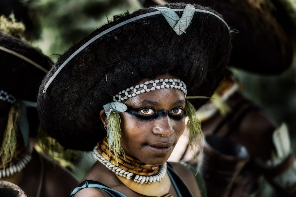 Wabag girl - Mount Hagen, Papua New Guinea