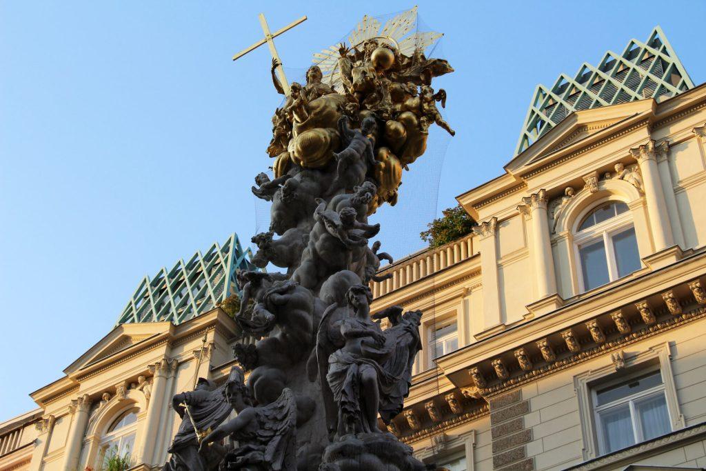 Pestsäule: Recordando las epidemias con las columnas de la peste, Viena, Austria