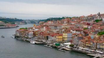 Oporto desde el Puente de Luiz I