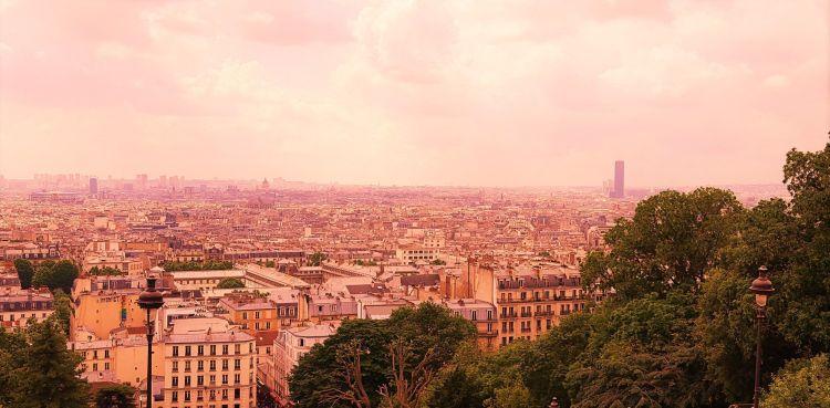 París desde el Sacre Couer