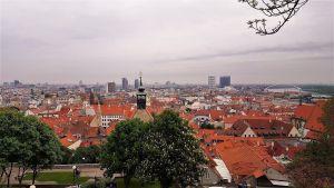Bratislava desde el Castillo