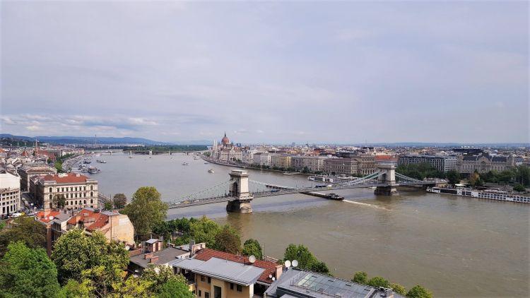 Budapest desde el Castillo