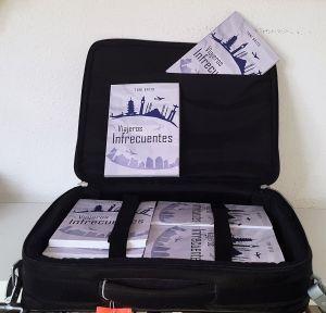 Maletín de libro viajeros infrecuentes