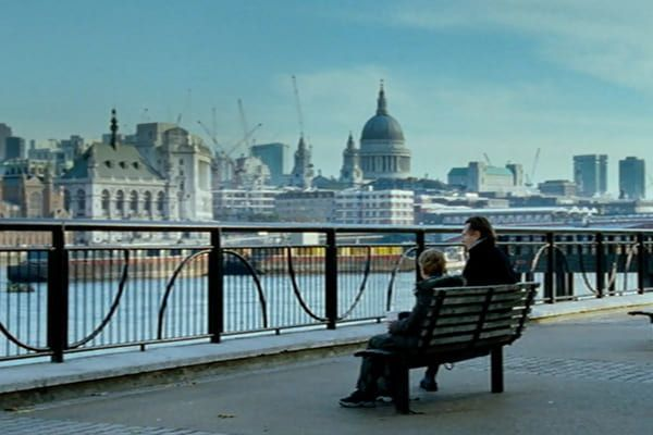 Vistas desde South Bank en Love Actually