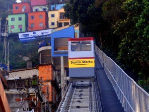 Favela de Santa Marta, donde rodó Michael Jackson en Brasil