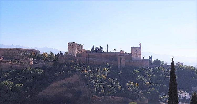 Alhambra de Granada, Patrimonio de la Humanidad en España