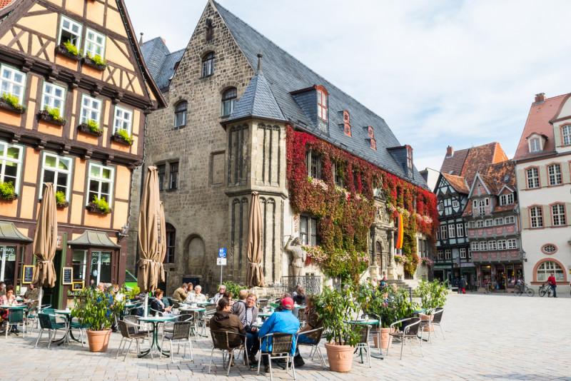 La ciudad de las 1200 casas entramadas en Alemania