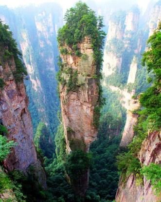 Resultado de imagen para Monte Tianzi, China