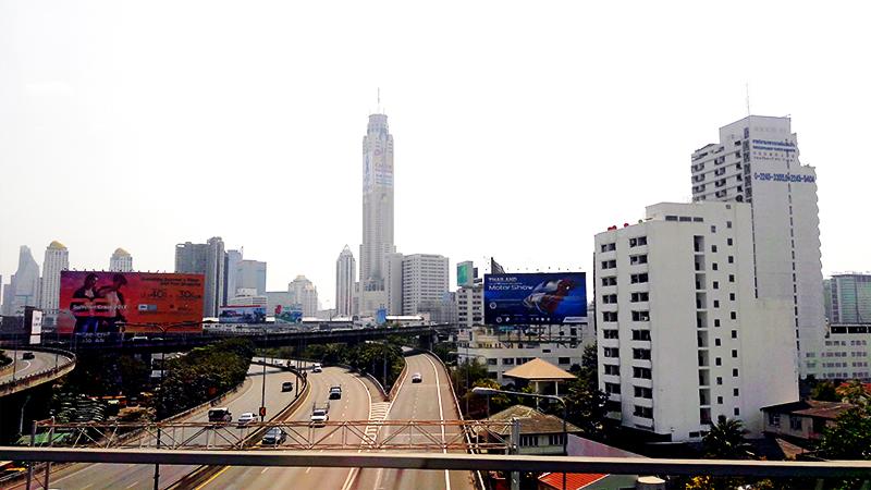 Skyline Bangkok mañana