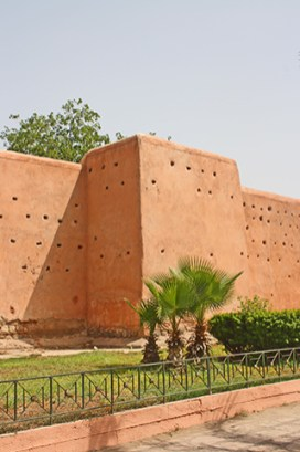 Muralla roja medina Marrakech