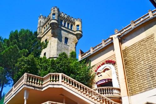 Torre Monte Igueldo Túnel del terror San Sebastián Donosti País Vasco