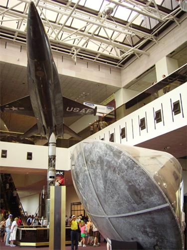 Museo Nacional del Aire y el Espacio de Estados Unidos Washington