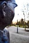 Escultura marinero mirando Bremen