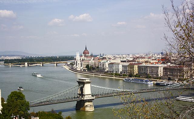 Budapest vistas Monte Géllert blog Juanjook