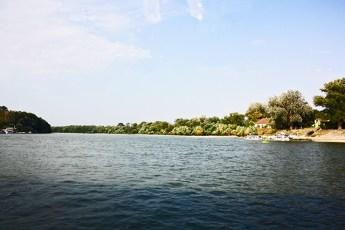 Crucero río Danubio vistas Szentendre Hungría