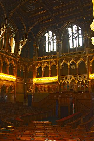 Cámara Consejo Diputados Hungría Budapest