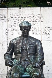 Estatua Kölcsey Ferenc Budapest