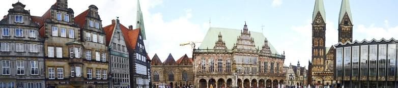 Panorámica Marktplatz Bremen