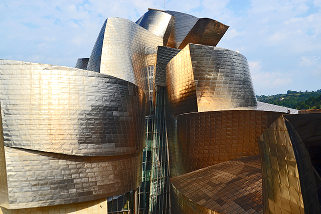 Altzairuzko erraldoia aulkiak Bilbao aro berria