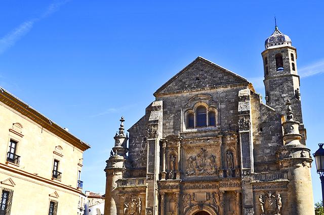 Fachada Iglesia El Salvador Andrés de Vandelvira Úbeda Jaén