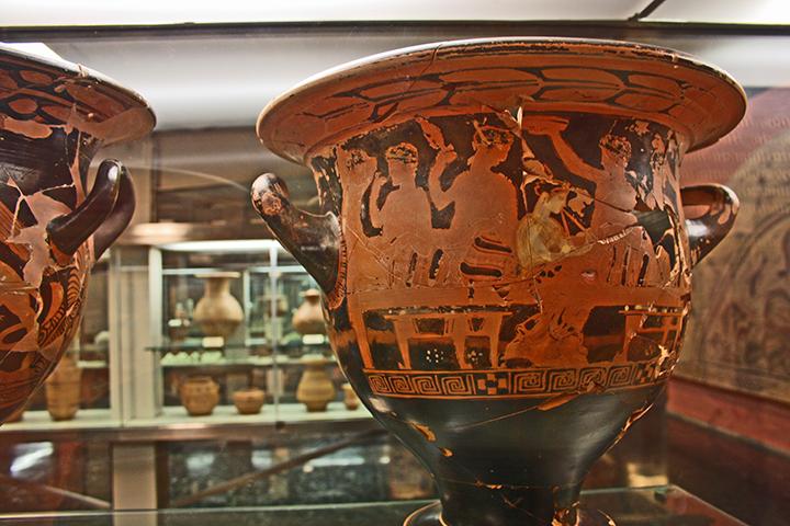 Ánfora griega Museo Provincial Jaén