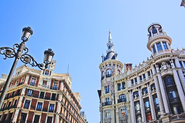 Edificios neoclásicos Plaza Canalejas Madrid
