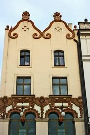 Fachadas Art Nouveau número 4 Plaza Mercado Cracovia