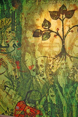 Tapiz decoración andaluz árabe Granada