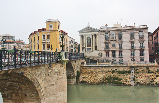 Río Segura puente Viejo Murcia
