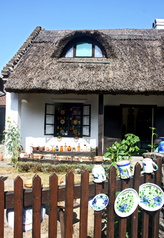 Casas típicas Lago Balaton